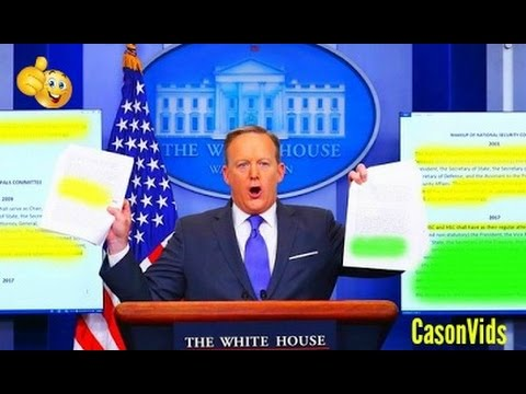 Sean Spicer HEATED Press Conferences So Far 2/12/2017 Best sean spicer press briefings