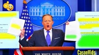 Sean Spicer HEATED Press Conferences So Far 2/12/2017 Best sean spicer press briefings thumbnail