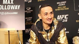 UFC 218 Media Day: Max Holloway is having fun regardless of opponent