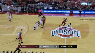 Rutgers at Ohio State - Men's Basketball Highlights