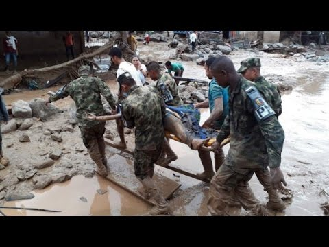 Mudslides kill over 200 in Colombia