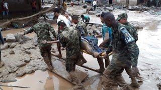 Mudslides kill over 200 in Colombia