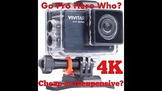 Vivitar DVR 917HD 4K Action Camera Unboxing