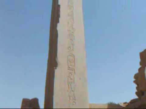 Obelisk in Karnak Temple, 6 February 2012