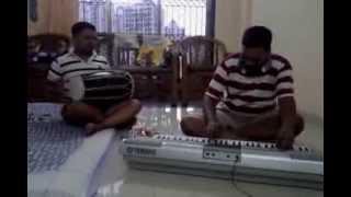Qawwali instrumental Dholak & Keyboard by bro Pradeep & Ebenezar Mumbai