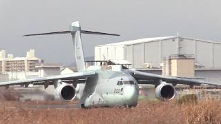 A180307A 航空自衛隊岐阜基地 電波情報収集機『RC-2』 テストフライト