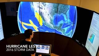 National Hurricane Center Data on Liquid Galaxy