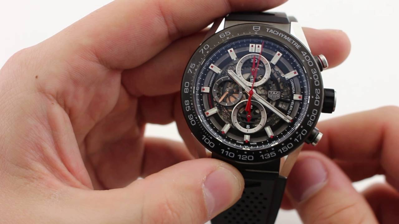 1e7ad4680149 TAG Heuer Carrera Heuer 01 Reference CAR2A1Z FT6044 - YouTube