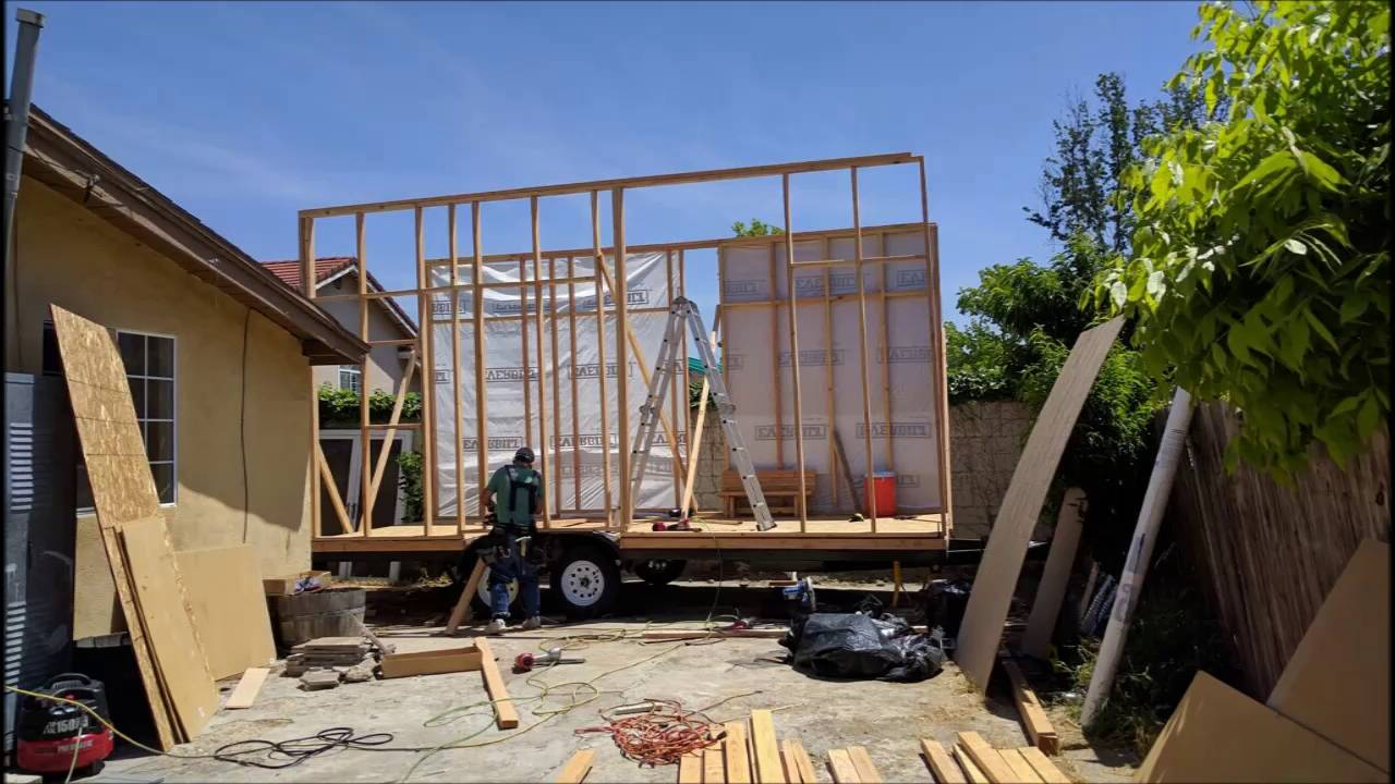 Tiny House Time Lapse Youtube