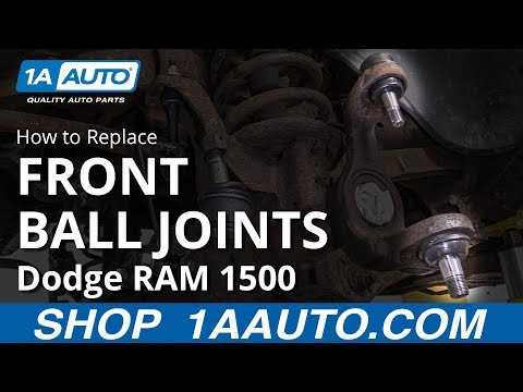 How to Replace Front Ball Joints 94-02 Dodge RAM 1500