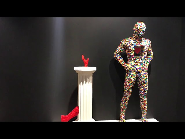 Art of the Brick at Buffalo Museum of Science