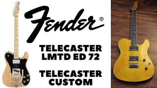 🎸Una Limited Edition 72 riproposta e migliorata e la Telecaster Custom elegante e pronta a tutto.