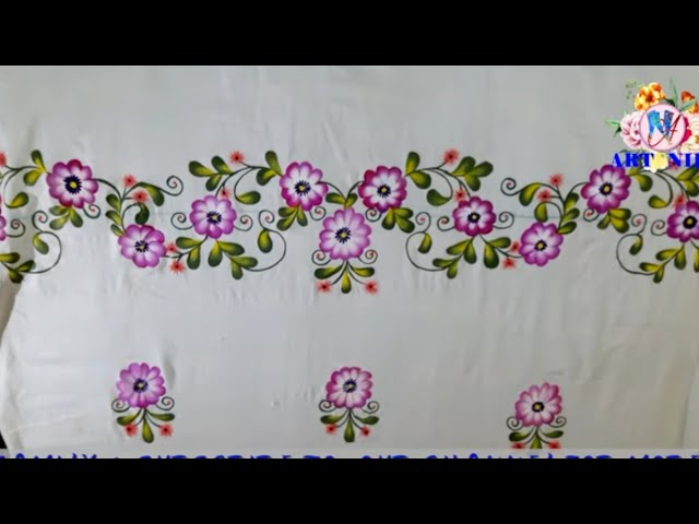 T53 - NEW BEDSHEET DESIGN WITH TRACING AND PAINTING