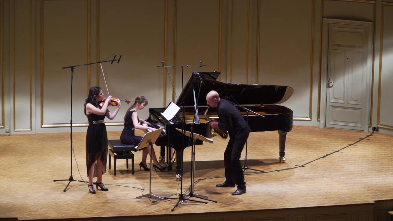 Trio Klavis - Richard Dubugnon, Mikroncerto lllb World Premiere, Tonhalle Zurich