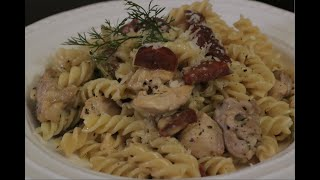 Chicken and chorizo Pasta - Real time cooking