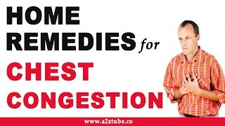 Chest Congestion – Natural Ayurvedic Home Remedies