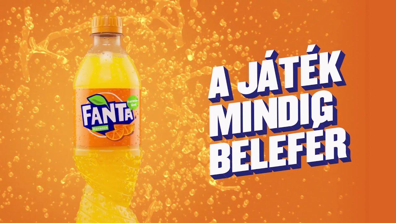 Pörögj rá a játékra a Fanta-val!