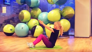 trening na brzuch i boczki ćwiczenia na mięśnie brzucha   codziennie fit