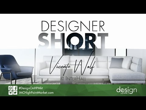 Designer Short: Vicente Wolf at InterHall