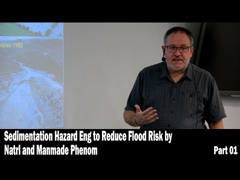 Sedimentation Hazard Eng to Reduce Flood Risk by Natrl and Manmade Phenom - Part 01