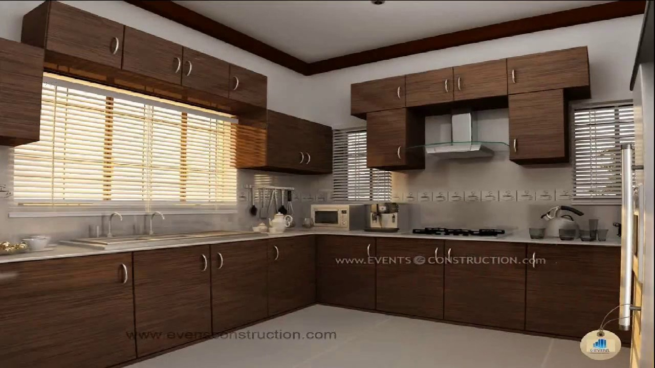 Kerala Style Kitchen Interior Designs