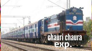 Chauri Chaura Express (15003-15004) with wdm 3a power