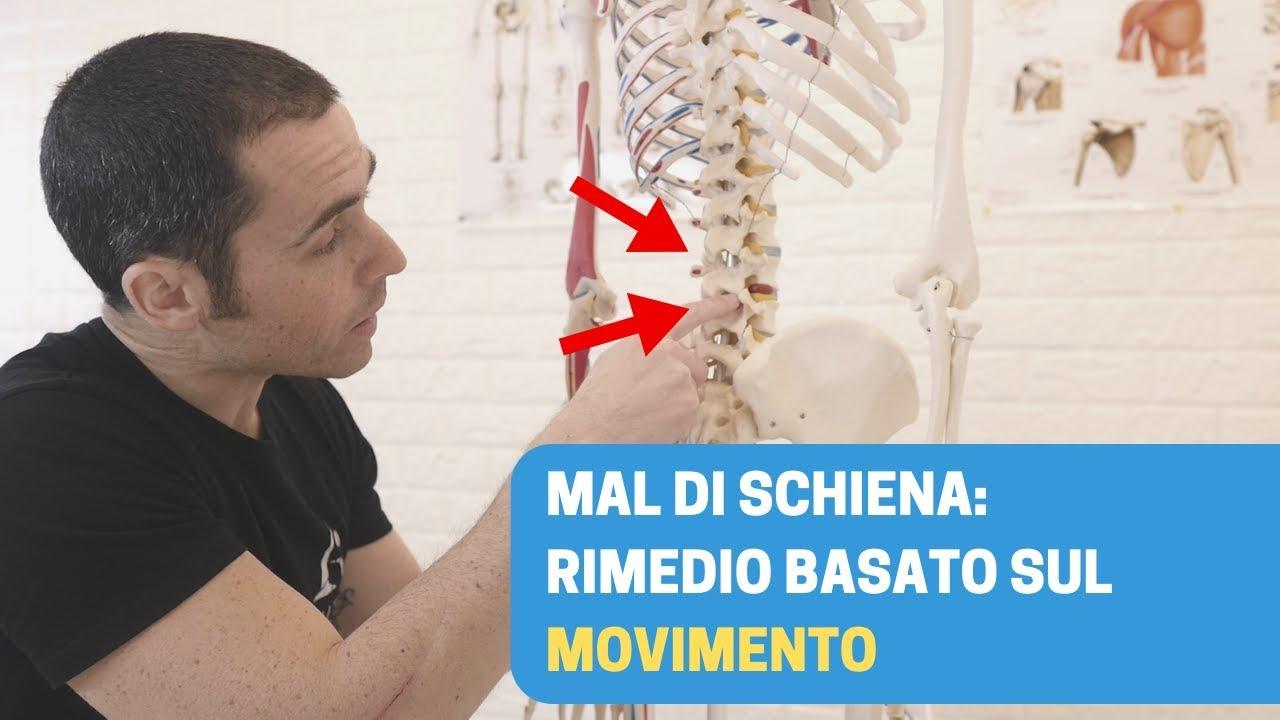 MAL DI SCHIENA: rimedio VELOCE basato sul MOVIMENTO - YouTube