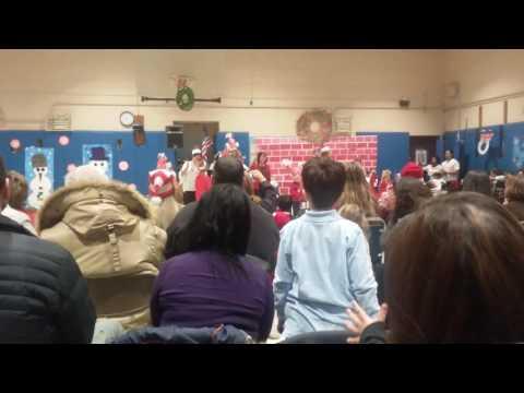 Staten island ps 37 Santacon In School Kids part1