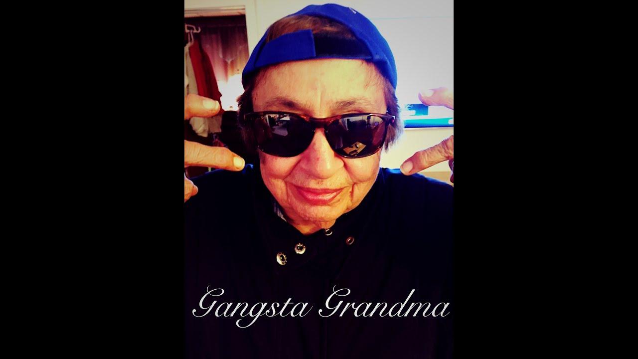 Introducing Gangsta Grandma From Musical.ly