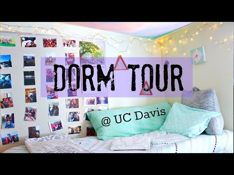 COLLEGE DORM TOUR | UC DAVIS