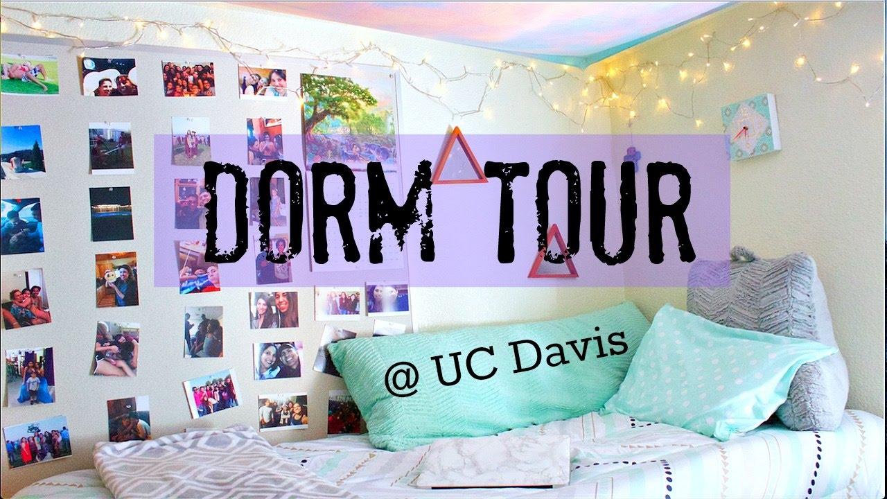 Lovely COLLEGE DORM TOUR | UC DAVIS   YouTube Part 8