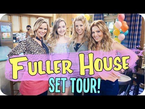 Fuller House Set Tour & Meeting the Cast!