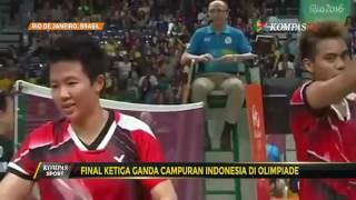 Video Final Ketiga Ganda Campuran Indonesia di Olimpiade download MP3, 3GP, MP4, WEBM, AVI, FLV Desember 2018