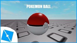 ROBLOX Studios [PokemonBall] SpeedBuild