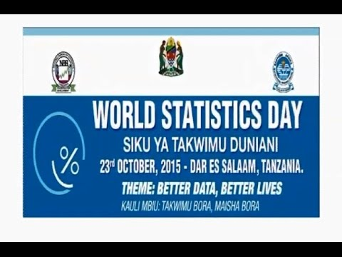 World Statistics Day Tanzania, 2015