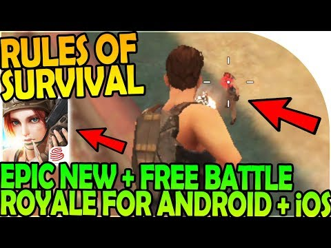 RULES OF SURVIVAL - EPIC NEW + FREE BATTLE ROYALE GAME for ANDROID iOS - Rules of Survival Gameplay