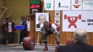 Kornel Czekiel 220kg Clean and Jerk @106.5kg