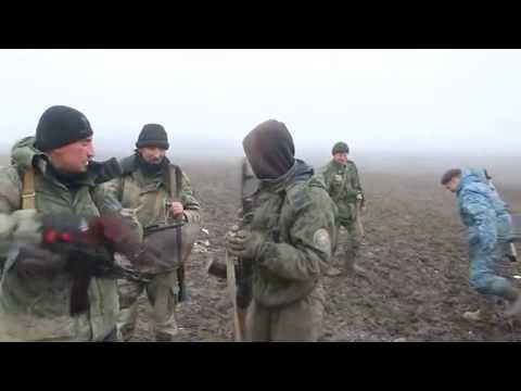 DNR troops on combat positions under Debaltseve 14 02 2015 Ukraine War,News Today!
