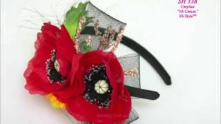 Дизайнерские шляпки VA StyleTM(шляпки и украшения для волос торговой марки VA Style 2012 года, Киев, Украина. Изделия ручной работы с элементами..., 2012-02-23T19:06:06.000Z)