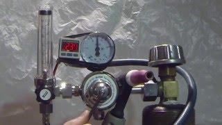 Регулятор У-30/А-40, настройка давления(Настройка под свои величины расхода регулятора У-30/А-40 фирмы ПТК. Давление на цифровом манометре отображает..., 2016-02-04T18:47:46.000Z)