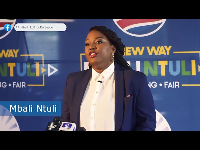 Mbali Ntuli - A New Way | Endorsement Video