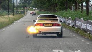 Supercars Accelerating - GT2 RS, Aventador S, GT40, Capristo R8 V10 Plus, Performante, G-Power M3