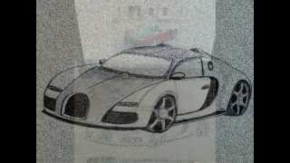 "Bugatti Veyron Grand Sport ""How to Draw 3D"""