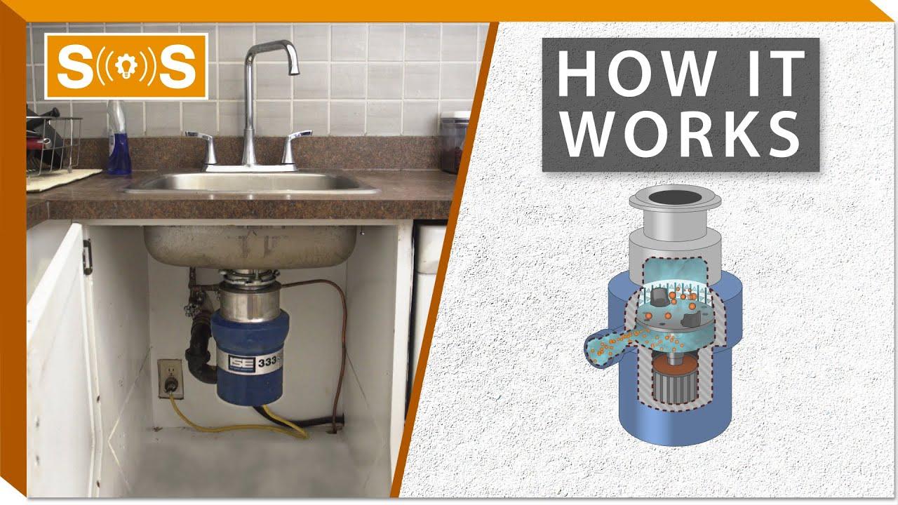 how do garbage disposals work spec sense