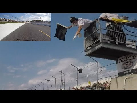 Sunset Speedway Velocity Weekend Ontario legends cars Heat Race #1  Matt Haufe #7 September 21, 2019