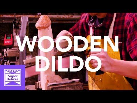 Wooden Dildo   Stoned Mode