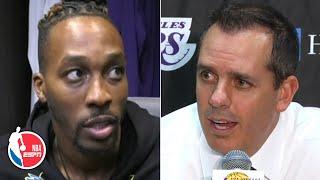 Dwight Howard, Frank Vogel pleased after Lakers' preseason win vs. Warriors | NBA on ESPN