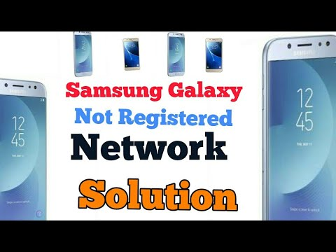 J5 Pro Samsung Fix  Not Registered on Network