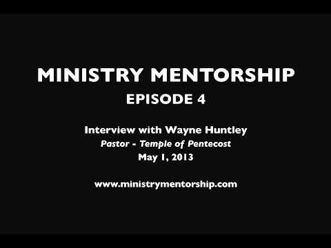 Wayne Huntley Interview 5.1.13