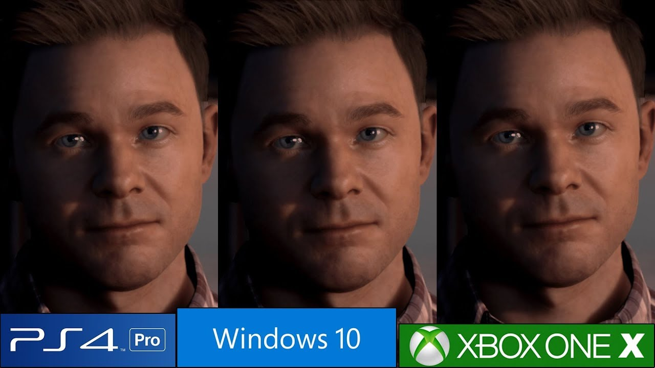 Man of Medan: PS4 Pro vs Xbox One X vs PC Graphics ...Xbox One X Vs Ps4 Pro Graphics